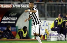 A delicious touch from Vidal sets up Tevez goal in the Derby d'Italia