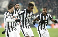 Tevez nets a brace while Evra and Pogba show off their dance routine