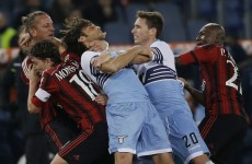 Philippe Mexes was undoubtedly the angriest man in football this weekend