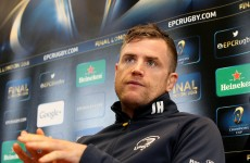 'It's what European rugby's all about': Heaslip relishing intensity of pool decider with Wasps