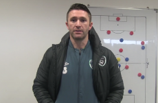 Robbie Keane and Carlo Cudicini went to Carlow IT to get their coaching badges this week