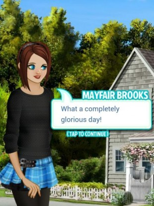 Mayfair Brooks, a mobile drama created by Sophia Stuart last year.