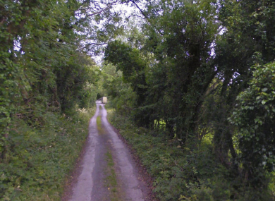 A stretch of road at Knockakeery, near where the collision occurred.