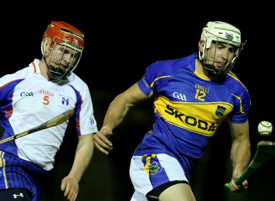 Tipperary's Patrick Maher and Liam Corry of Mary I.