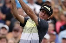 Bubbbbbaaaaa Watson made an absolute mockery of a par-four at the Phoenix Open