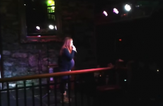 Heavily pregnant Irish woman does stand up comedy and completely rocks