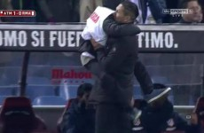 Torres makes Atleti return but it's the ball boy who gets hugs from Simeone