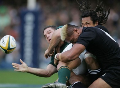 Collins was once one of the hardest hitters in world rugby.