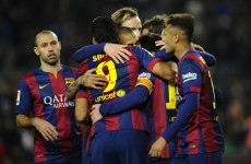 Barca bounce back with Messi, Neymar and Suarez all among the goals