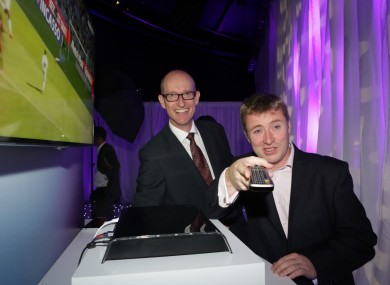 CEO of UPC Ireland Magnus Ternsjo when it launched new Horizon TV in 2013