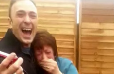 Irish mammy completely loses the plot over emigrant sons' surprise homecoming