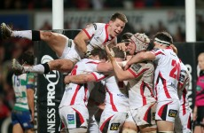 Ulster make light work of Treviso to move into second place with bonus-point win