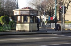 This coffee kiosk in Dublin is on the market for €200,000
