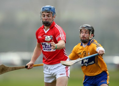 Cork's Conor O'Sullivan and Clare's Cathal O'Connell could collide again next weekend