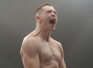 Irish UFC fighter Joseph Duffy.
