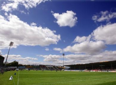 Semple Stadium in warmer weather.