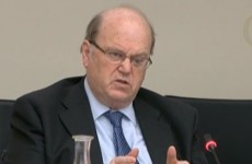 "Michael Noonan as he flies to Brussels: ""Today I'm pessimistic"""