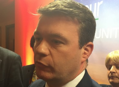 Alan Kelly in Killarney this evening