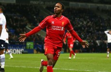 Raheem Sterling is making all the right noises about a new Liverpool contract