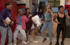 Jimmy Fallon reunited the Saved By The Bell cast, and it was wonderful