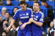 Burnley earn a point at Chelsea as Nemanja Matic loses the head and sees red