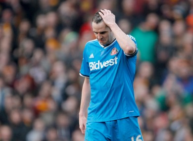 It was an afternoon to forget for O'Shea and his team mates.
