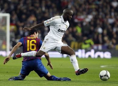 Diarra played for Real Madrid for three years.