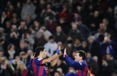 Luis Suarez sets up goals for both teams as Barcelona beat Villareal