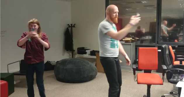 This pointless app makes spinning in circles competitive (and we had to try it)