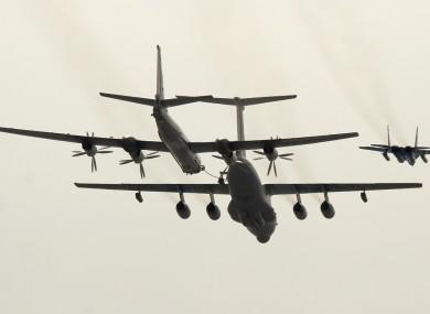 File Photo:  Tupolev Tu-95 'Bear' bomber