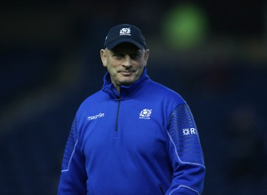 Cotter is heading into his first 6 Nations campaign as Scotland coach.