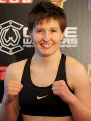 Irish UFC strawweight Aisling Daly.