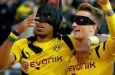 Borussia Dortmund's dynamic duo bring the fun back with Batman & Robin celebration