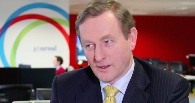 So we asked Enda Kenny if he'll do a TV debate with Micheál Martin (or Gerry Adams)