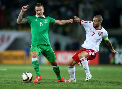 Whelan has been in a regular in the Irish midfield since Giovanni Trapattoni's first game in charge of Ireland.