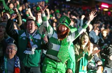 Letter from Edinburgh: Ireland's travelling support play a blinder