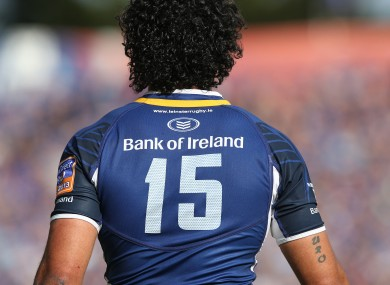 Nacewa last played for Leinster in May 2013.