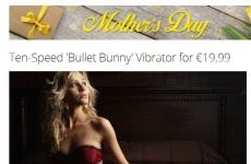This Mother's Day ad on an Irish deals site is all sorts of inappropriate