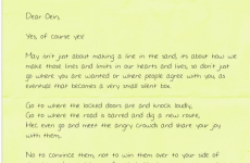 Gay man from Travelling community shares wonderful #YesEquality letter from his sister