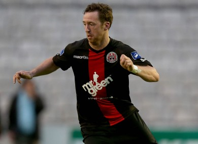 Patrick Kavanagh went close to scoring a fourth for Bohs.