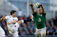 Was that display against England Paul O'Connell's final act at home in the Six Nations?