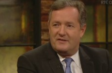 Piers Morgan gets a warm welcome as he attempts to 'crack the craic' in Dublin