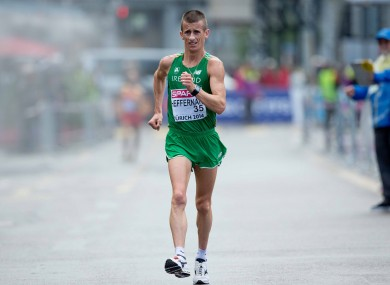 World champion Rob Heffernan: given €40k grant to boost his Olympic challenge.