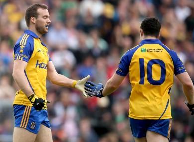 Senan Kilbride hit the net for Roscommon today.