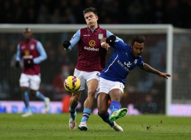 Grealish has featured sparingly for Aston Villa this season.