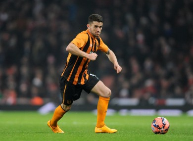 Robbie Brady had been in good form recently for Hull.