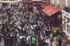 Looks like St Patrick's Day celebrations have got off to a good start!
