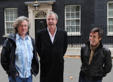 The presenters of Top Gear