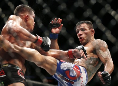 UFC lightweight world champion Rafael dos Anjos.