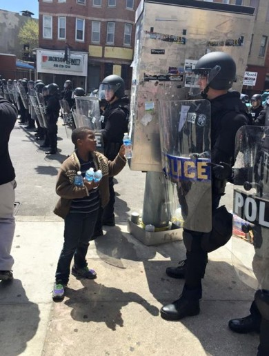 10 of the most viral moments from the Baltimore riots